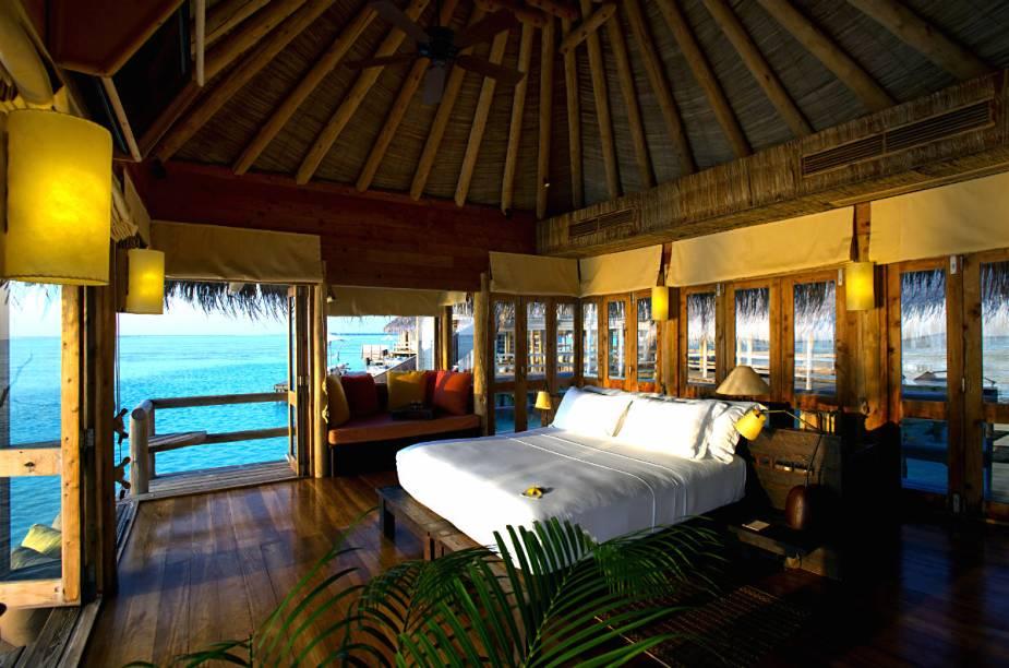 A relaxada atmosfera do hotel possibilita que os hóspedes se desliguem completamente da correria do dia-a-dia e desfrutem da paisagem ao redor.