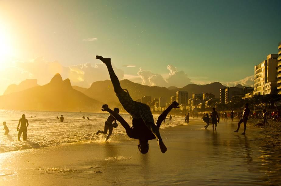 Capoeira no Arpoador, Rio de Janeiro