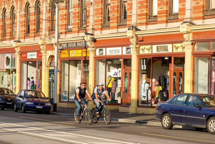 Rua de Fitzroy, em Melbourne