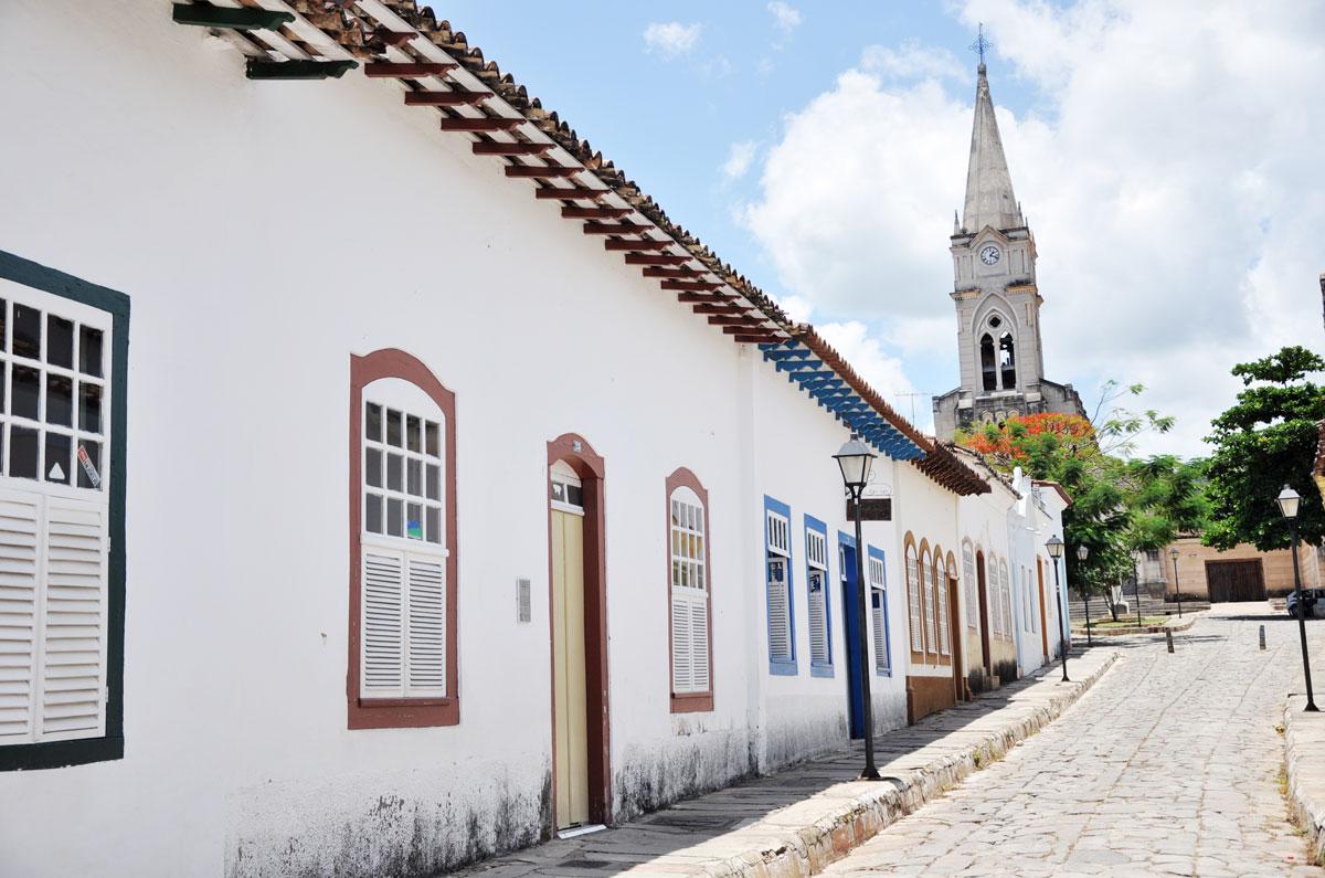 Cidade de Goiás Velho, em Goiás (GO)