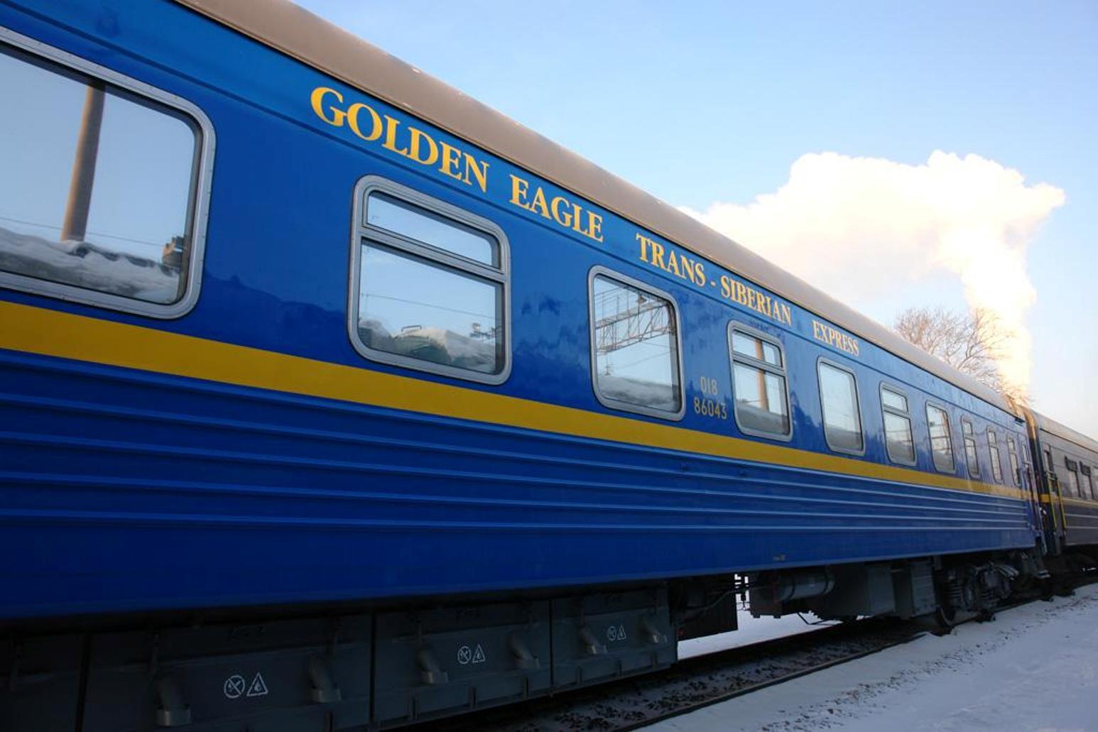 Golden Eagle, Ferrovia Transiberiana, Rússia