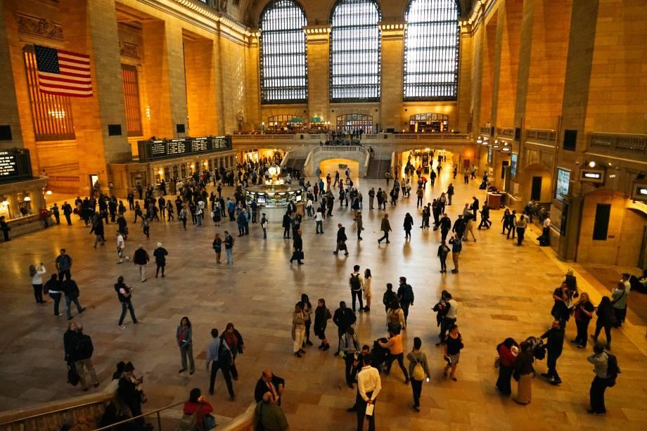 """<strong>10.<a href=""""http://viajeaqui.abril.com.br/estabelecimentos/estados-unidos-nova-york-atracao-grand-central-terminal"""" rel=""""Grand Central Terminal"""" target=""""_blank"""">Grand Central Terminal</a></strong>        O lugar mantém os elementos de uma antiga estação de trem, o que lhe confere um charme especial. Além de lojas como a da Apple e boas padarias, aqui é o ponto de partida para outros cantos da cidade"""