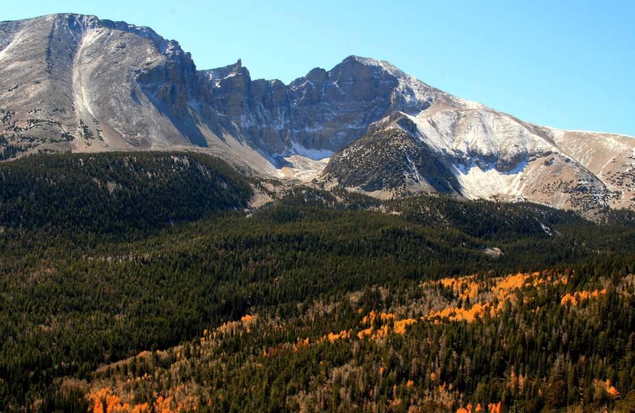 <strong>2. Great Basin National Park, em Nevada</strong>    Nevada está localizada em uma região demarcada por montanhas rochosas. Não à toa, o único parque nacional do Estado é cercado por elas.