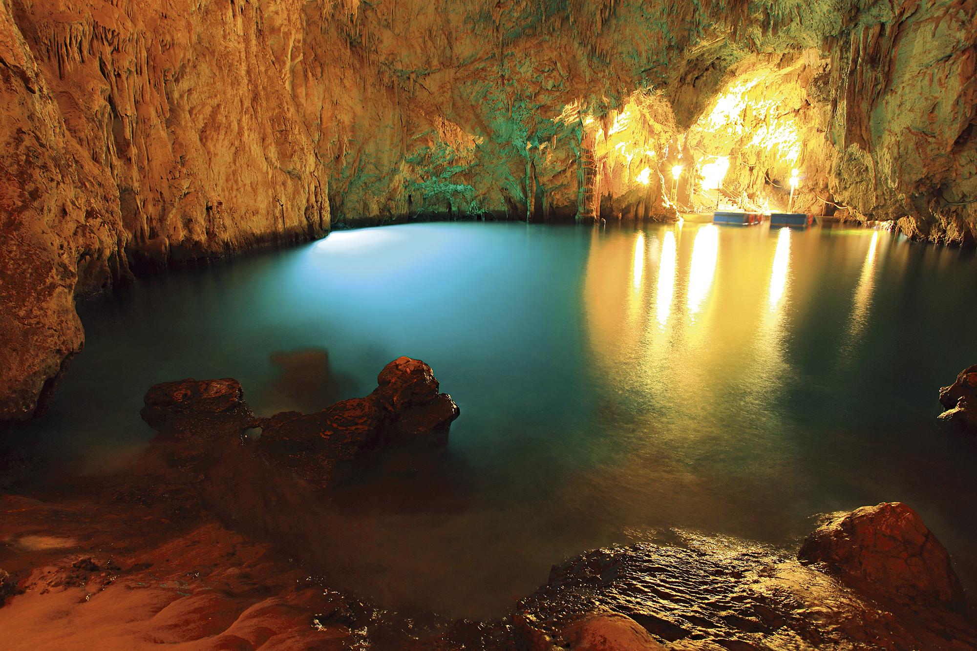 Grotta dello Smeraldo, Costa Amalfitana, Itália