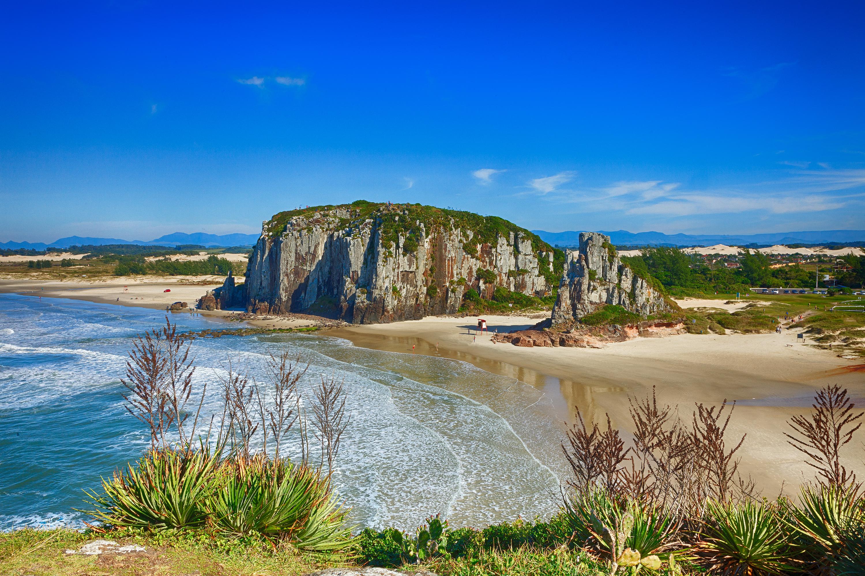 Falésias pelo mundo - Praia da Guarita em Torres (RS)