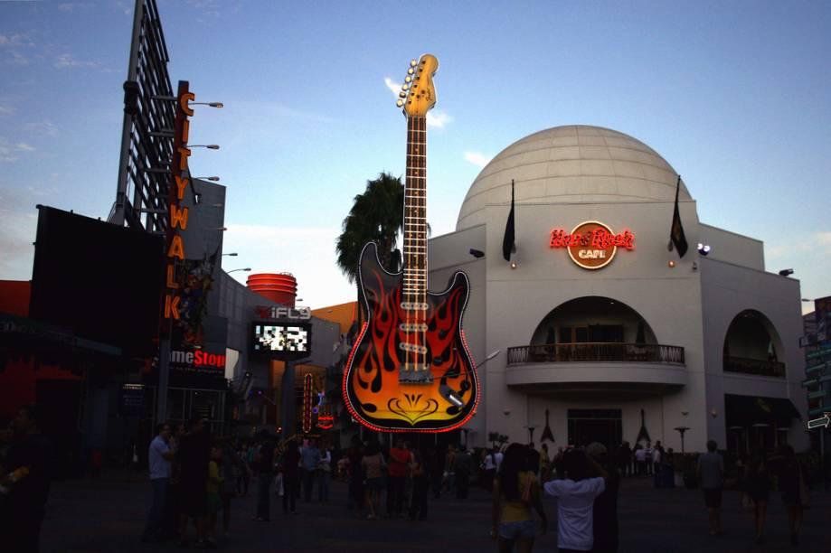 Hard Rock no Universal Studios Hollywood