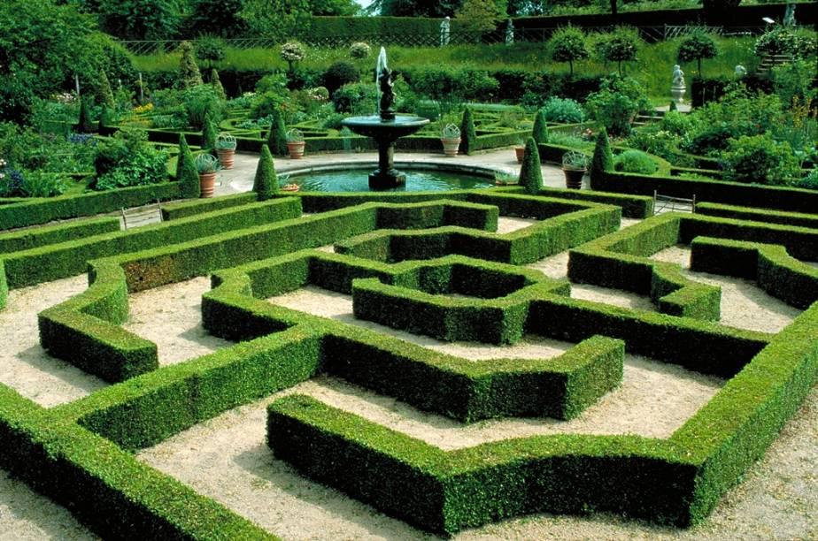 Jardins da Hatfield House - Hertfordshire - Inglaterra