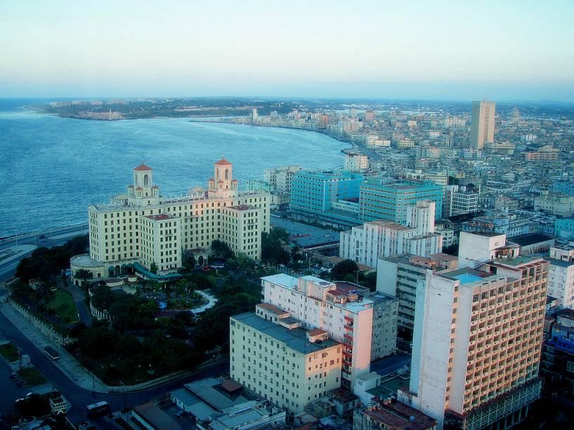 Vista áerea de Havana