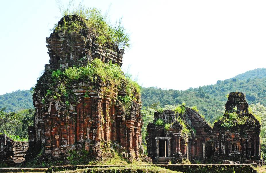 """As ruínas de My Son (pronunciado """"mi son"""") são uma ótima opção de day trip a partir de Hoi An."""