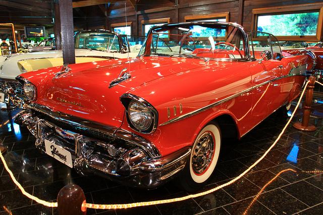 Cadillac conversível do Hollywood Dream Cars, Gramado, Rio Grande do Sul
