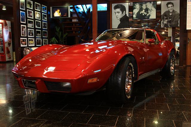 Corvette do Hollywood Dream Cars, Gramado, Rio Grande do Sul