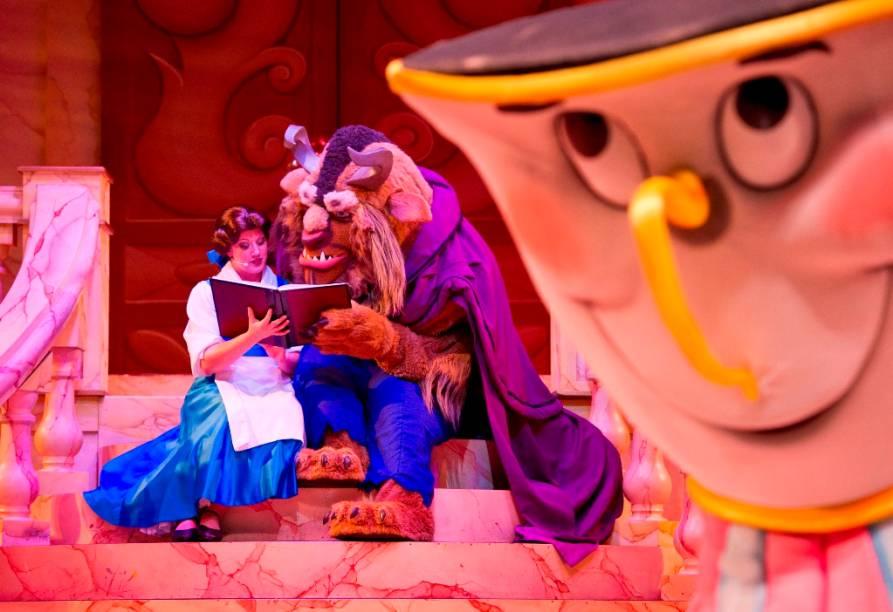 Show da Bela e a Fera no Hollywood Studios do Walt Disney World Resort