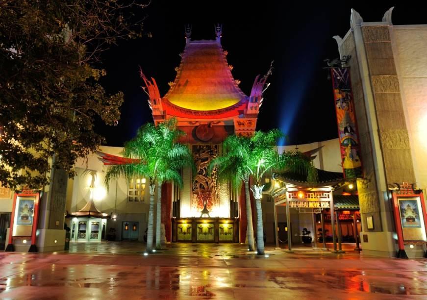 Great Movie Ride, no Hollywood Studios
