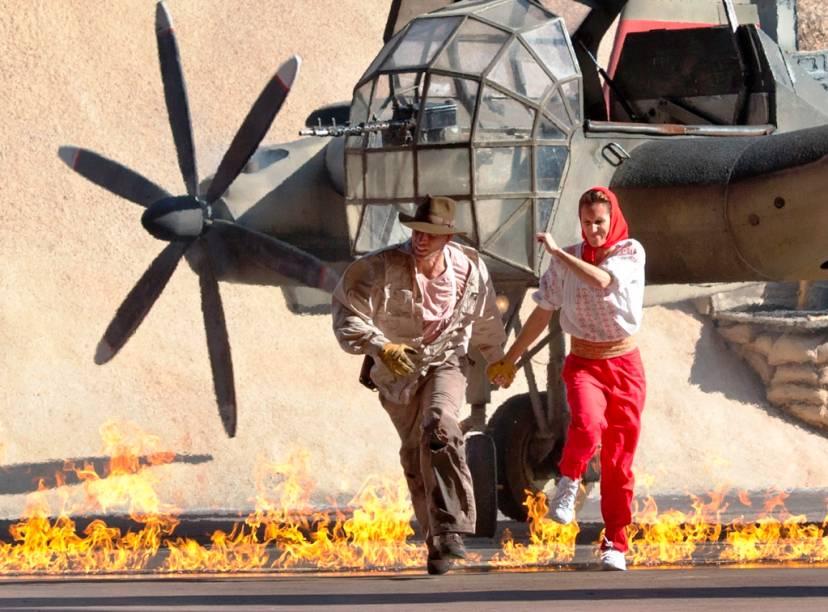 Indiana Jones Epic Stunt Spectacular, um animado show com dublês no Hollywood Studios