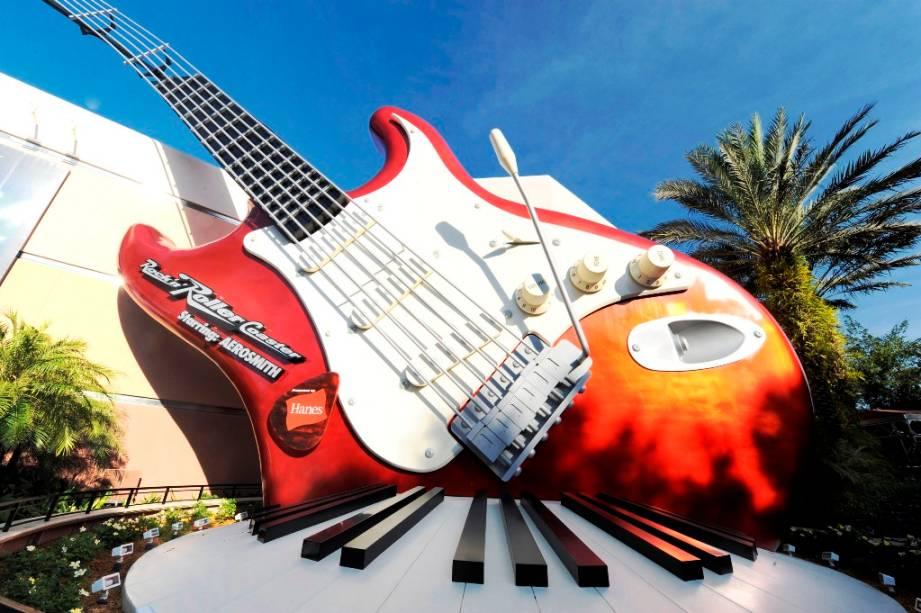 RocknRoller Coaster by Aerosmith, no Hollwood Studios