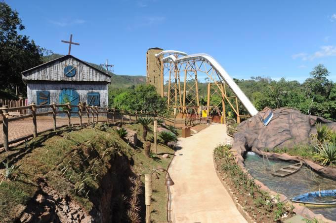 Xpirado, a nova atração do Hot Park, no Rio Quente, Goiás