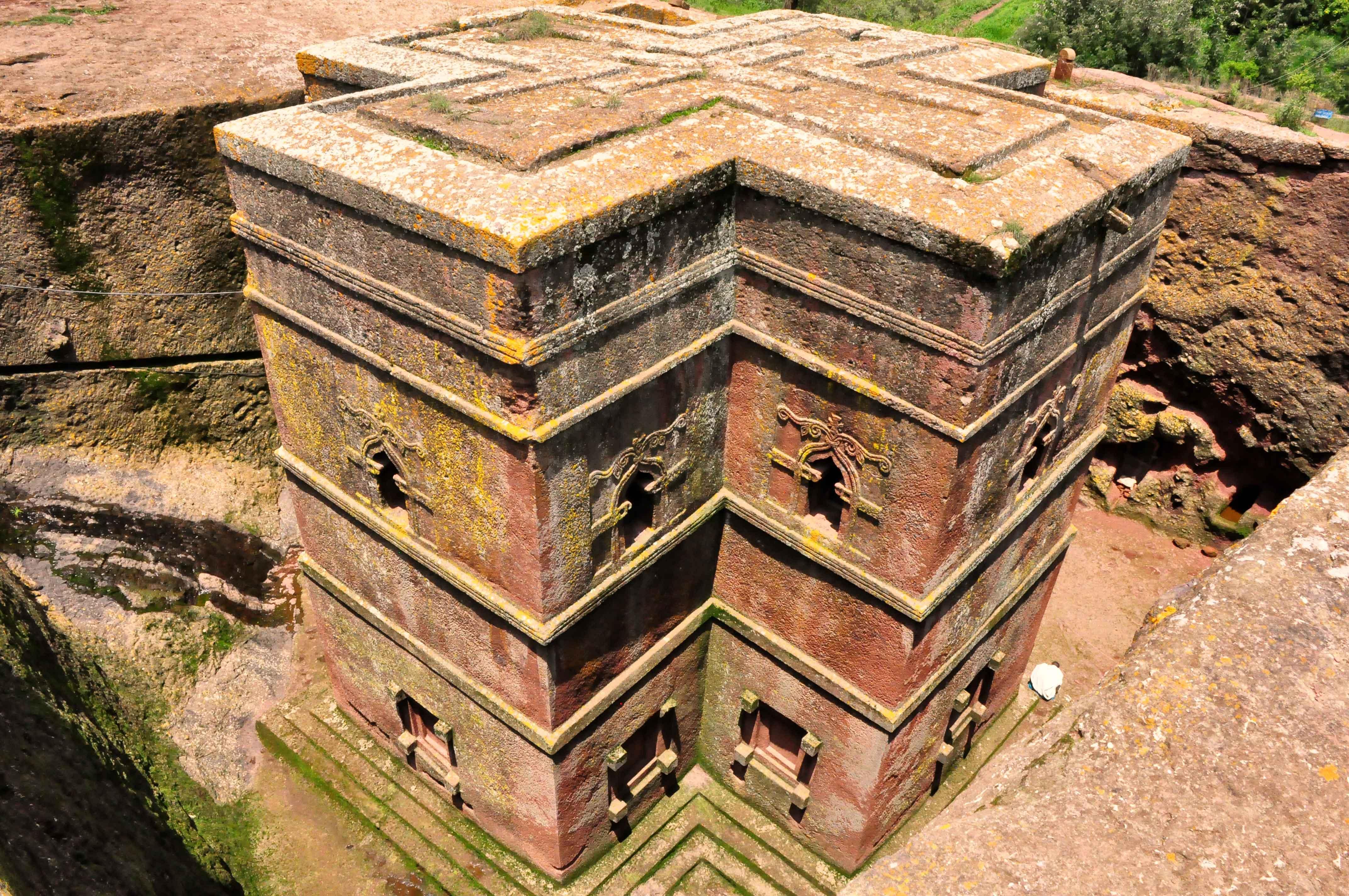 Igreja de Biet Gyiorgis, Lalibela, Etiópia