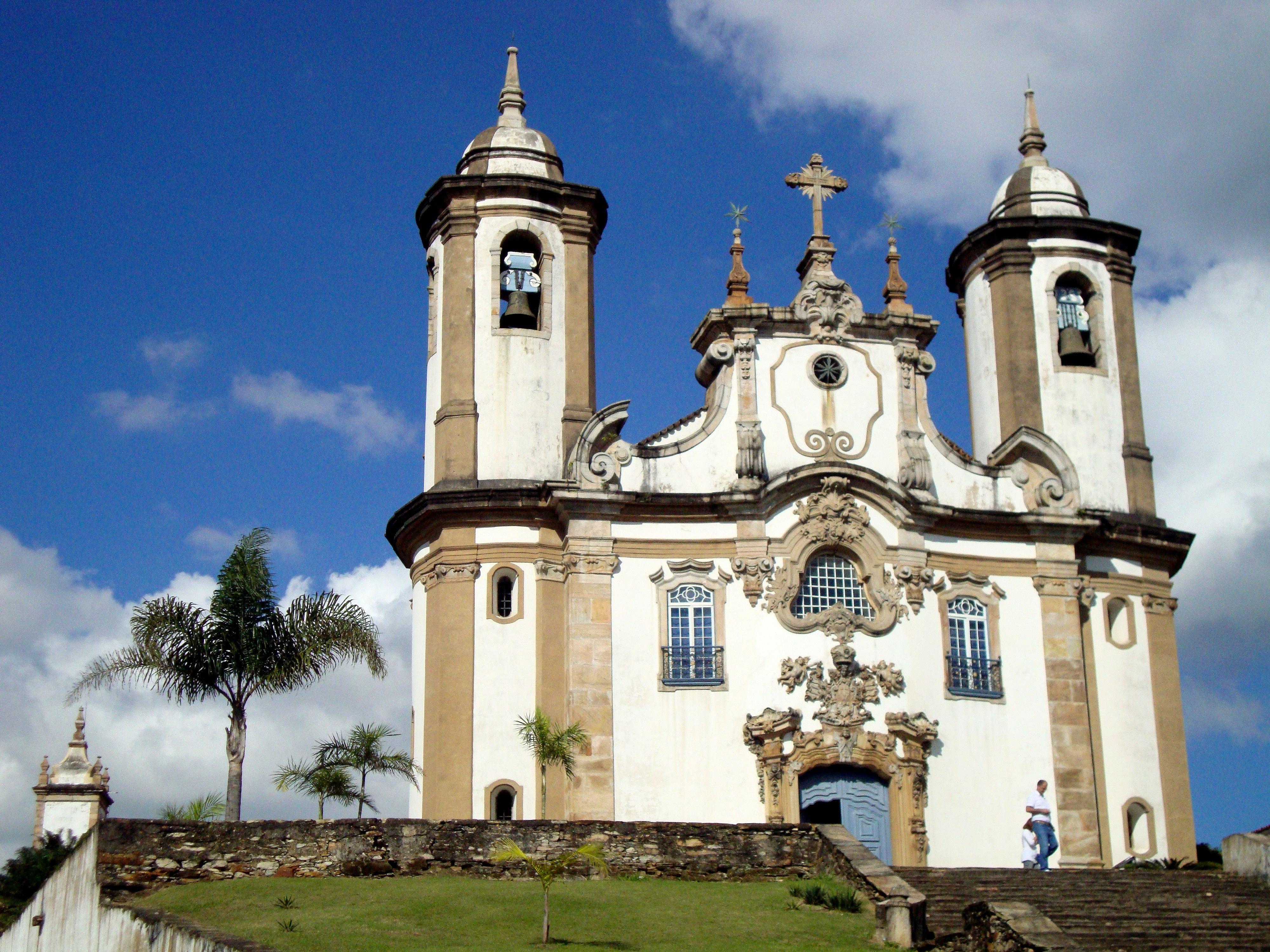 Igreja de Nossa Senhora do Carmo, em Ouro Preto (MG)