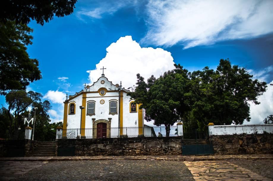 <strong>Igreja Santíssima Trindade</strong>, emTiradentes (MG)
