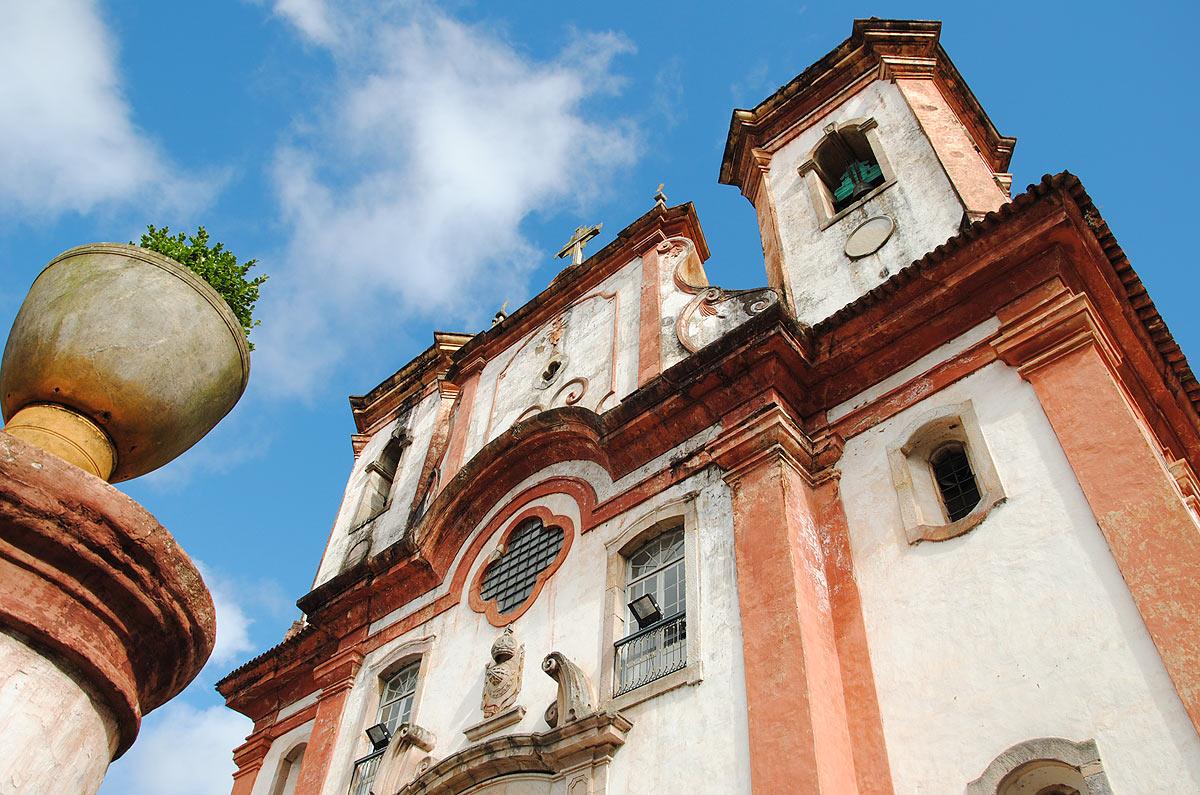 Igreja Matriz Nossa Senhora da Conceição, em Ouro Preto, Minas Gerais