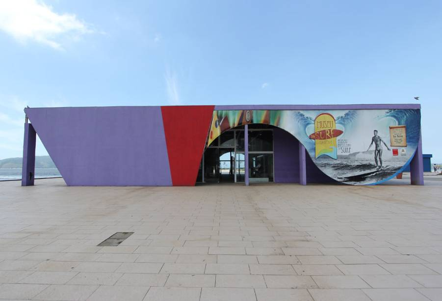 Museu do Surfe, no Parque do Emissário, em José Menino