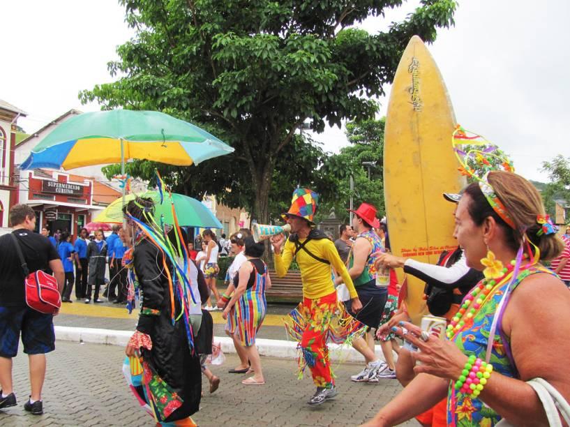 São Luiz do Paraitinga se acostumou a ver suas ruas cheias de gente no Carnaval