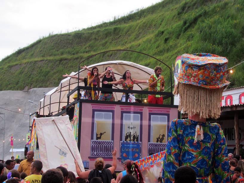 Em São Luiz do Paraitinga, o Carnaval havia sido banido pela Igreja Católica durante 50 anos, até ser liberada em 1981
