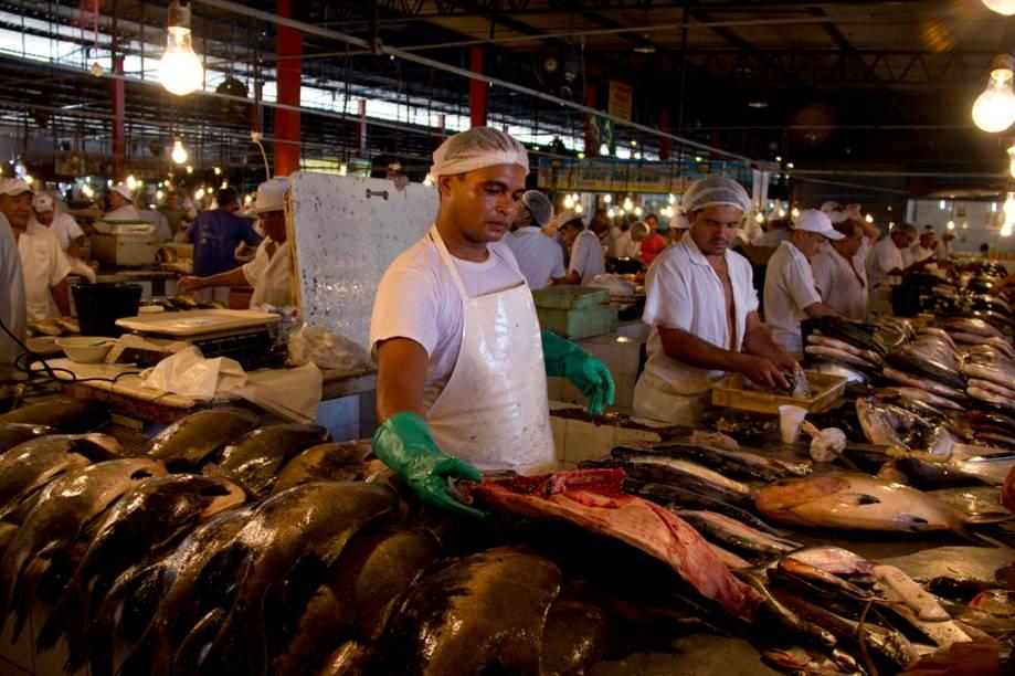 Mercado Municipal de Manaus, Amazonas