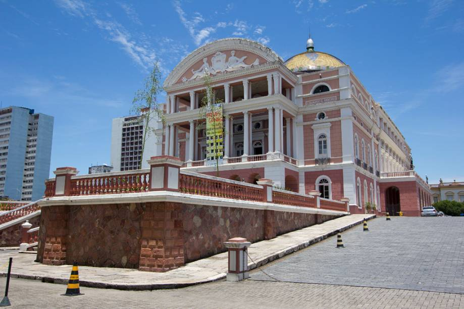 Teatro Amazonas, em Manaus, no Amazonas