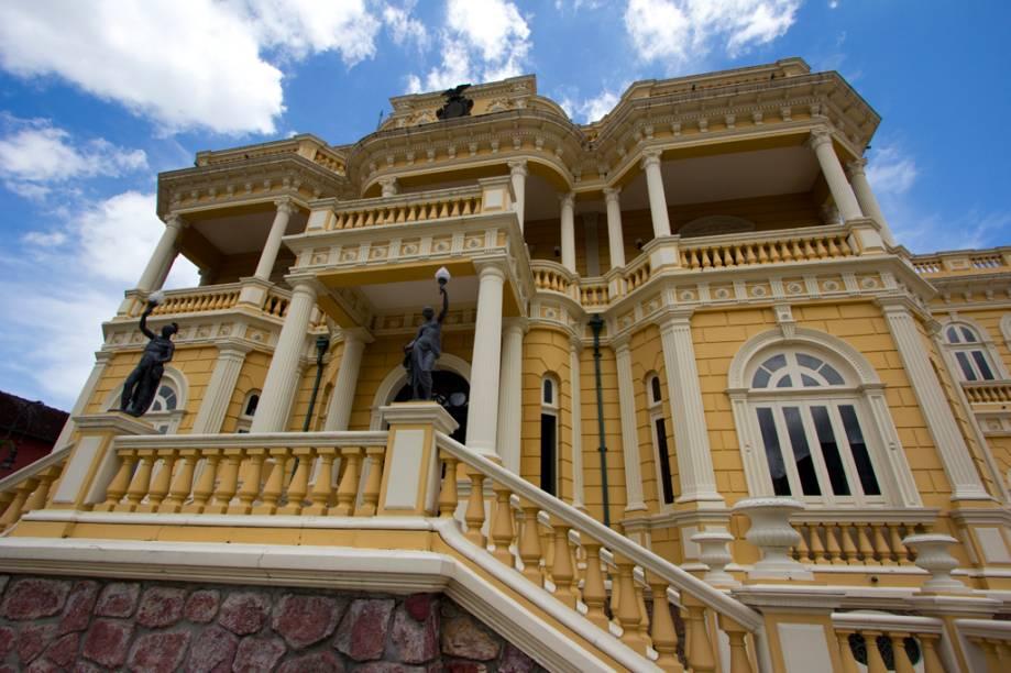 Palácio Rio Negro, em Manaus, no Amazonas
