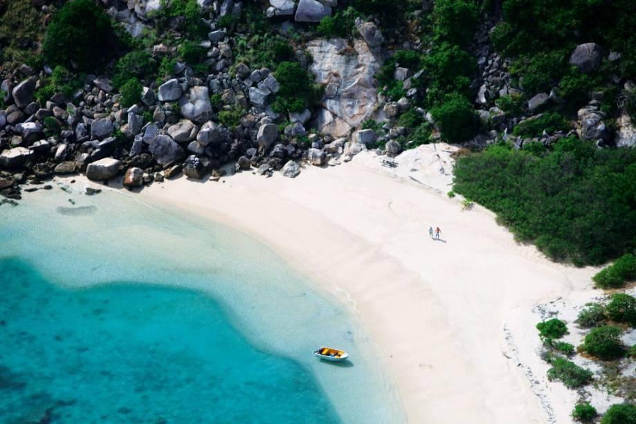 Ao norte de Cairns, em plena Grande Barreira de Corais, Lizard Island é um refúgio bastante exclusivo