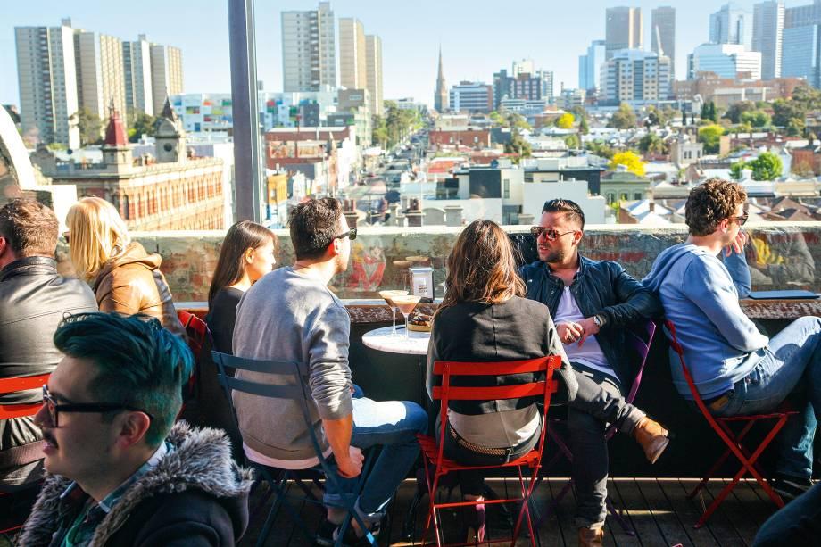 O Naked in the Sky é um dos rooftops mais descolados de Melbourne