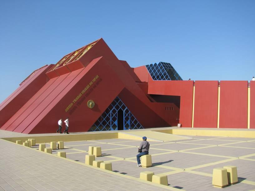 Museu Tumbas Reales de Sipán, em Lambayeque
