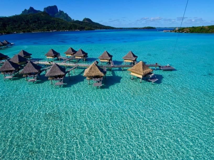 Intercontinental Bora Bora, Polinésia Francesa