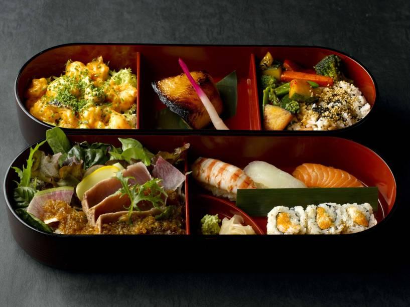 Bento, as famosas caixinhas japonesas com refeições completas