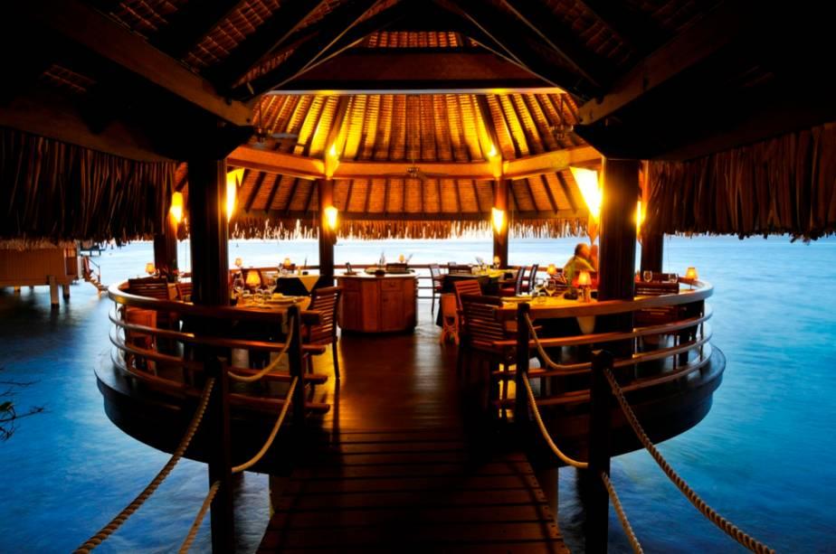 Restaurante-bar do Intercontinental Tahiti