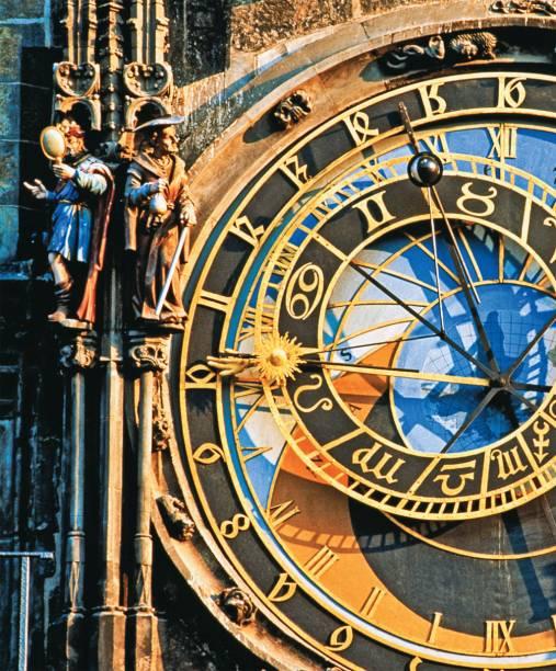 Relógio Astronômico em Praga, na República Tcheca
