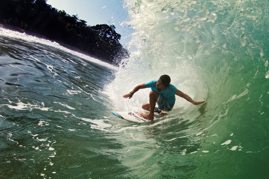 Surfe em Isla Grande