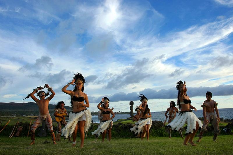 Apesar de pertencer ao Chile, a Ilha de Páscoa é, ainda, profundamente ligada à cultura polinésia