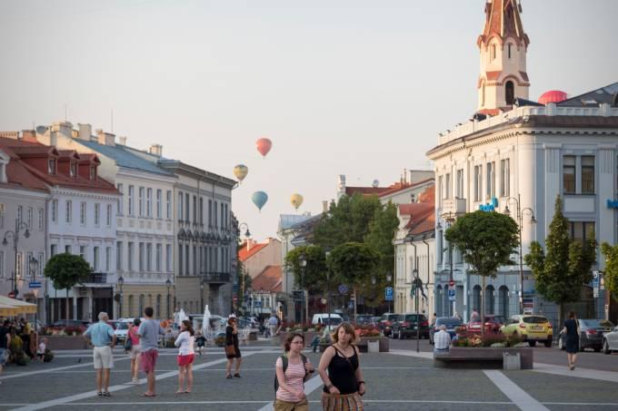 Centro Histórico de Vilnius, Lituânia