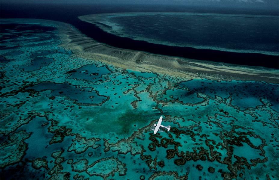A Grande Barreira de Corais da Austrália