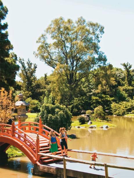 O Jardín Japonês, tranquilidade no meio da cidade