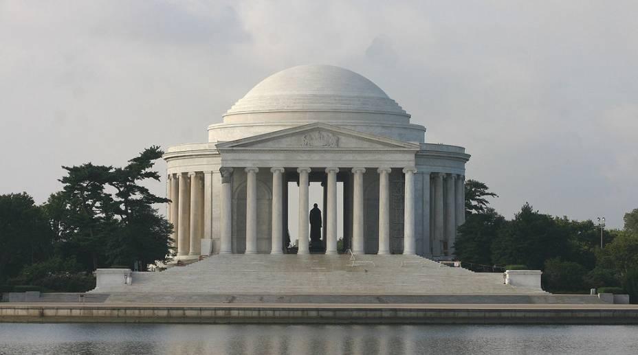 Jefferson Memorial, administrado pelos serviço de parques nacionais dos EUA