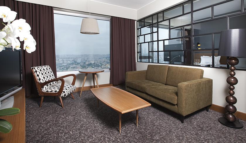 Suíte Júnior do Hotel Marmara Pera