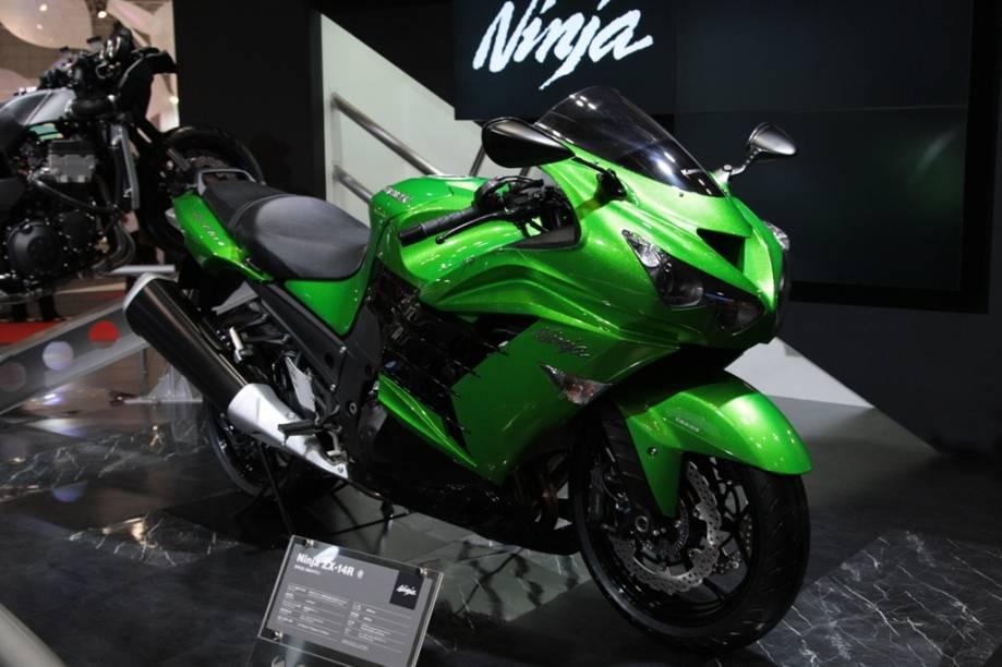 A Ninja ZX-14R é a mais nova geração da clássica linha da Kawasaki. Com motor quatro tempos de 16 válvulas e 1441 cc, ele substitui com honras a geração anterior