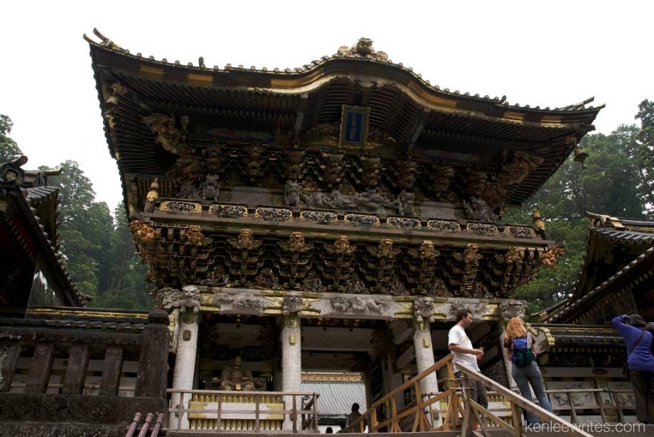 Portão Yomeimon, no santuário Toshogu de Nikko