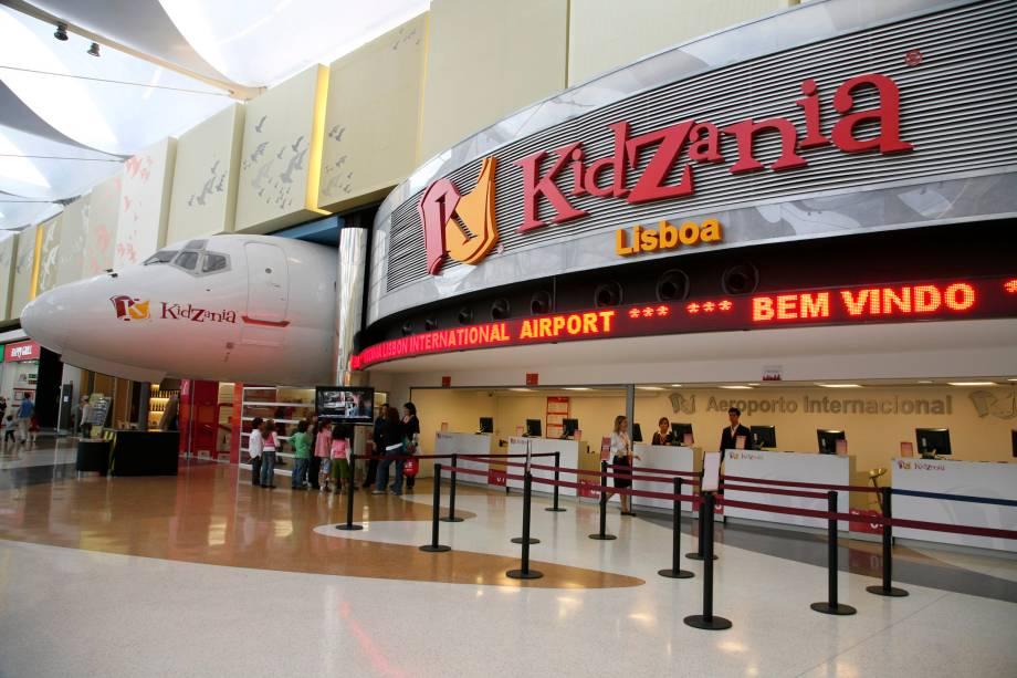 Aeroporto do Kidzania Lisboa