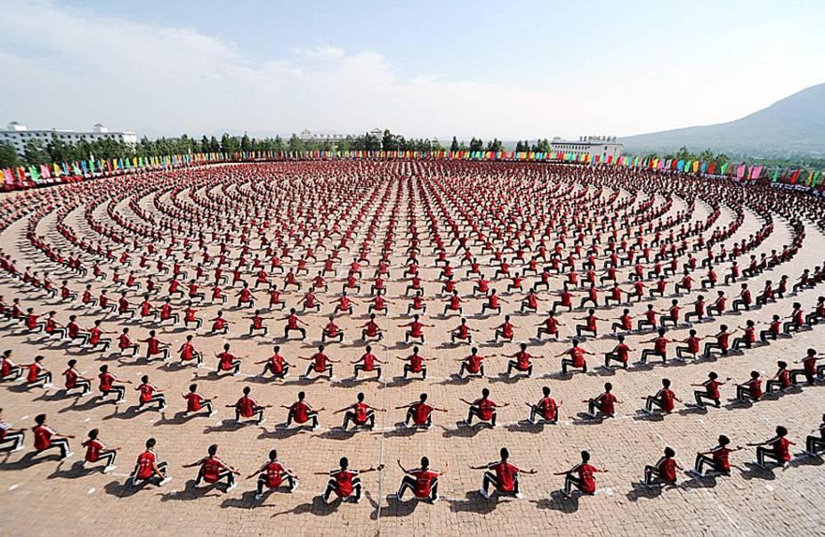 Templo Shaolin, em Dengfeng