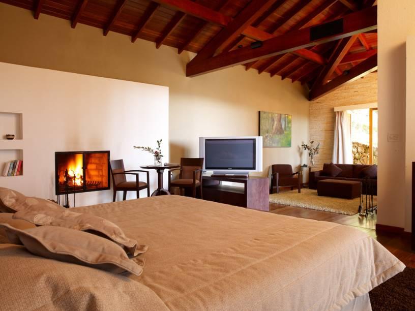 Chalé do hotel Kuriuwa, em Monte Verde, Minas Gerais