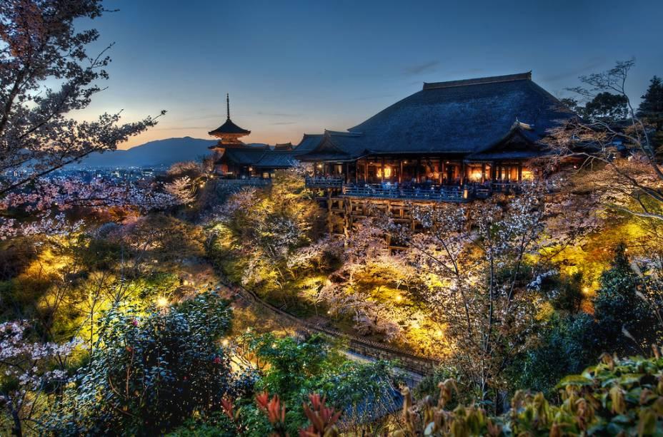 Templo Kyomizudera, em Kyoto